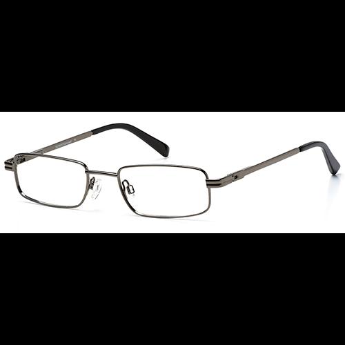 Harvey Mac CAROUSEL DETROIT Glasses – C1 Medium Gunmetal