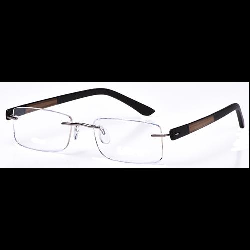 Harvey Mac Di Marco DM107 Glasses – C1 Medium Gunmetal